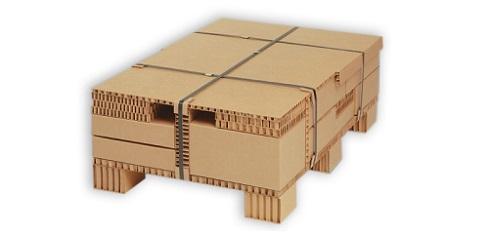 Гофрированный листовой картон